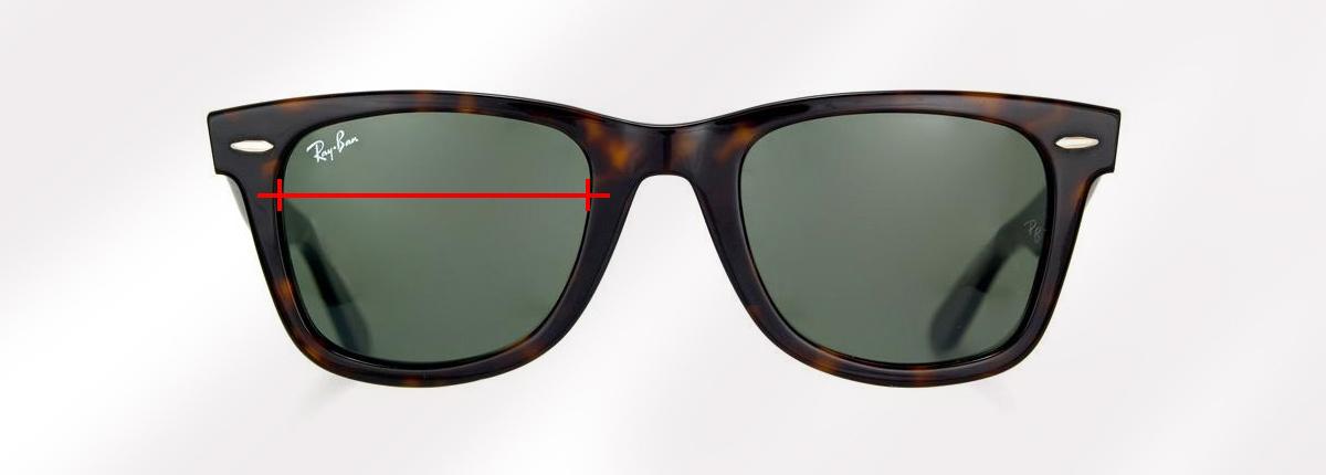 lentes ray ban medidas