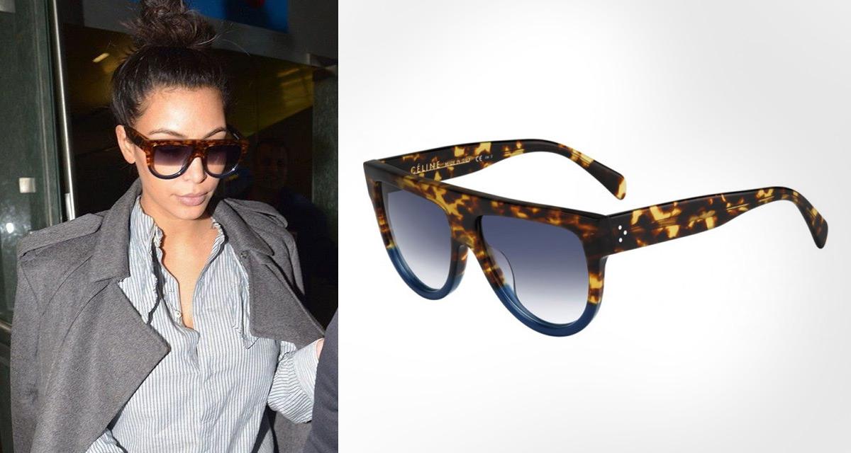 Les lunettes de soleil du clan Kardashian   Aveclunettesoleil Blog 2b457958ff9a