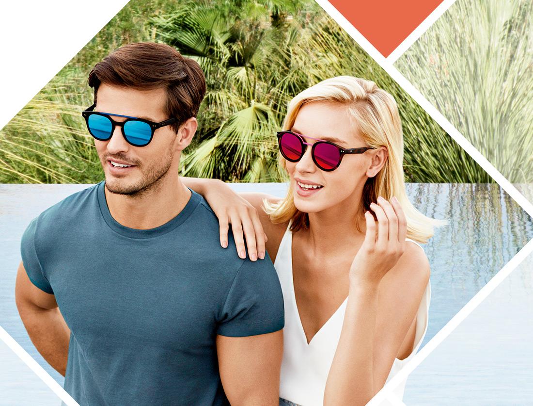 2e9af84f1 Gafas para la playa, ¿qué looks te sentarán bien en tus vacaciones?